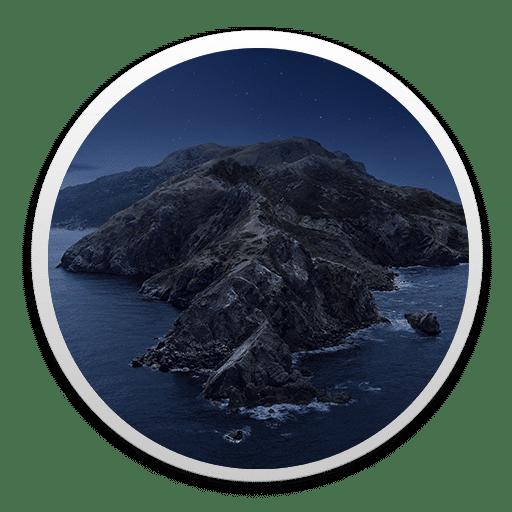 Icono MacOS Catalina