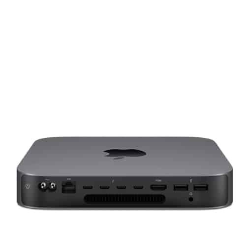 Mac Mini A1993 detrás