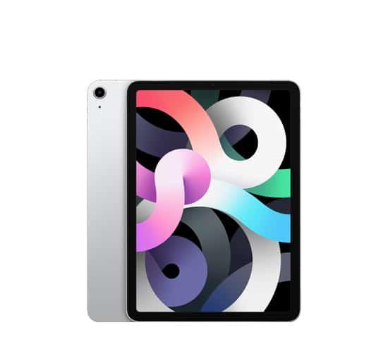 iPad Air 4 generación color plata