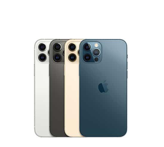 iphone 12 pro gama de colores