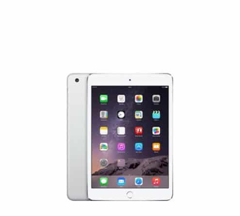 iPad Mini 3 segunda mano blanco