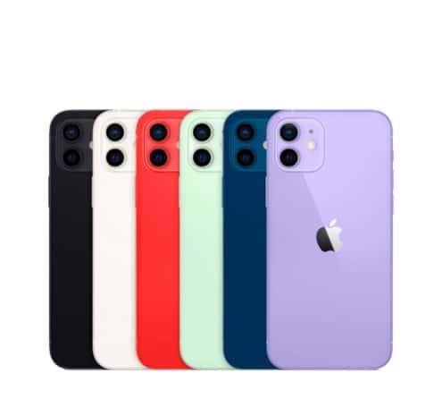Gama colores iPhone 12