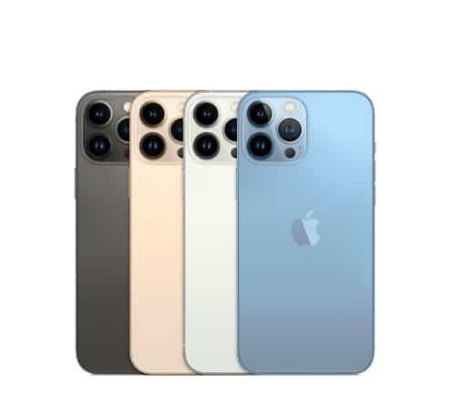 colores iPhone 13 Pro Max