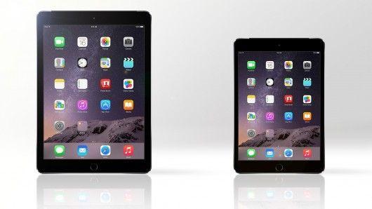 comparativa iPad Air vs iPad mini 3