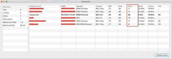 problemas con la señal del wifi Mac