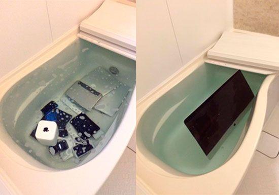 japonesa venganza bañera dispositivos apple