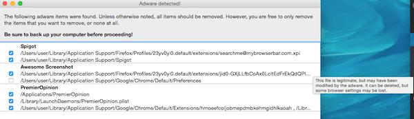 eliminar malware con AdwareMedic - MacServiceBcn 4