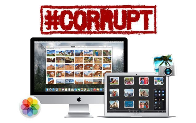 Solucionar Fototeca Fotos corrupta