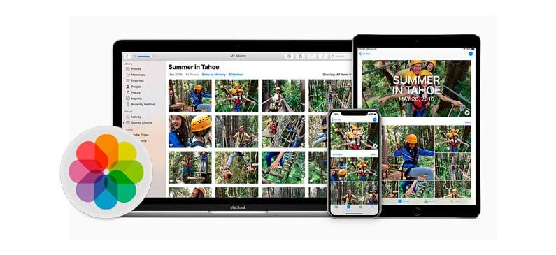Organizar videos y fotografías con Fotos de Apple