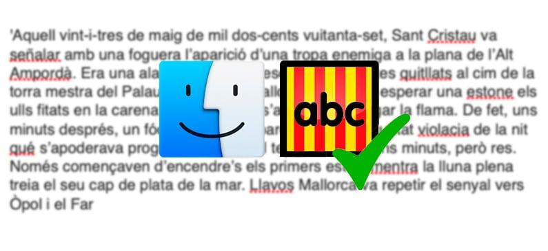 Instalar corrector catalán en Mac